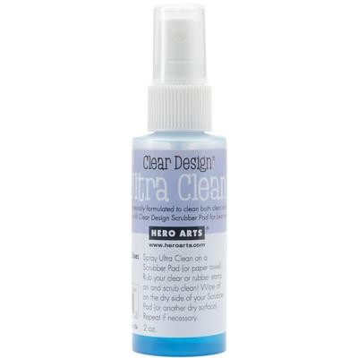 Hero Arts Ultra Clean Stamp Cleaner Spray 2oz