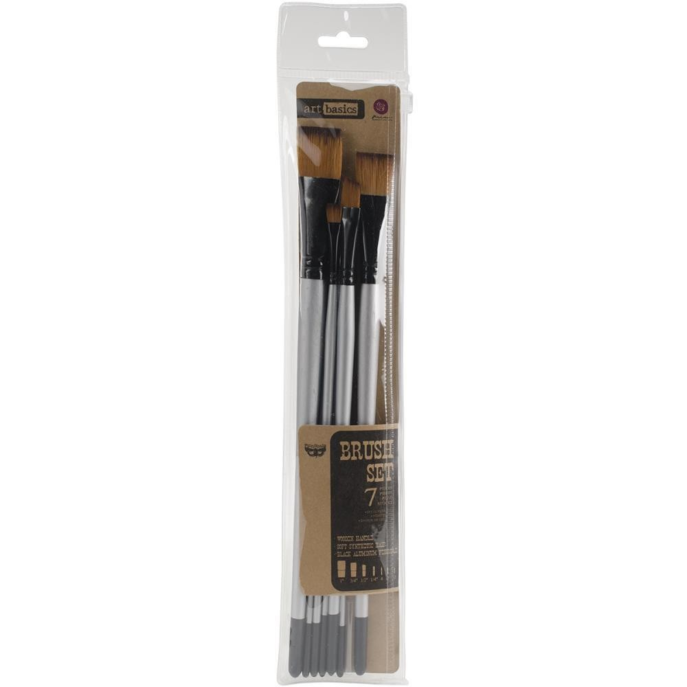Finnabair Art Basics Brush Set 7 piece