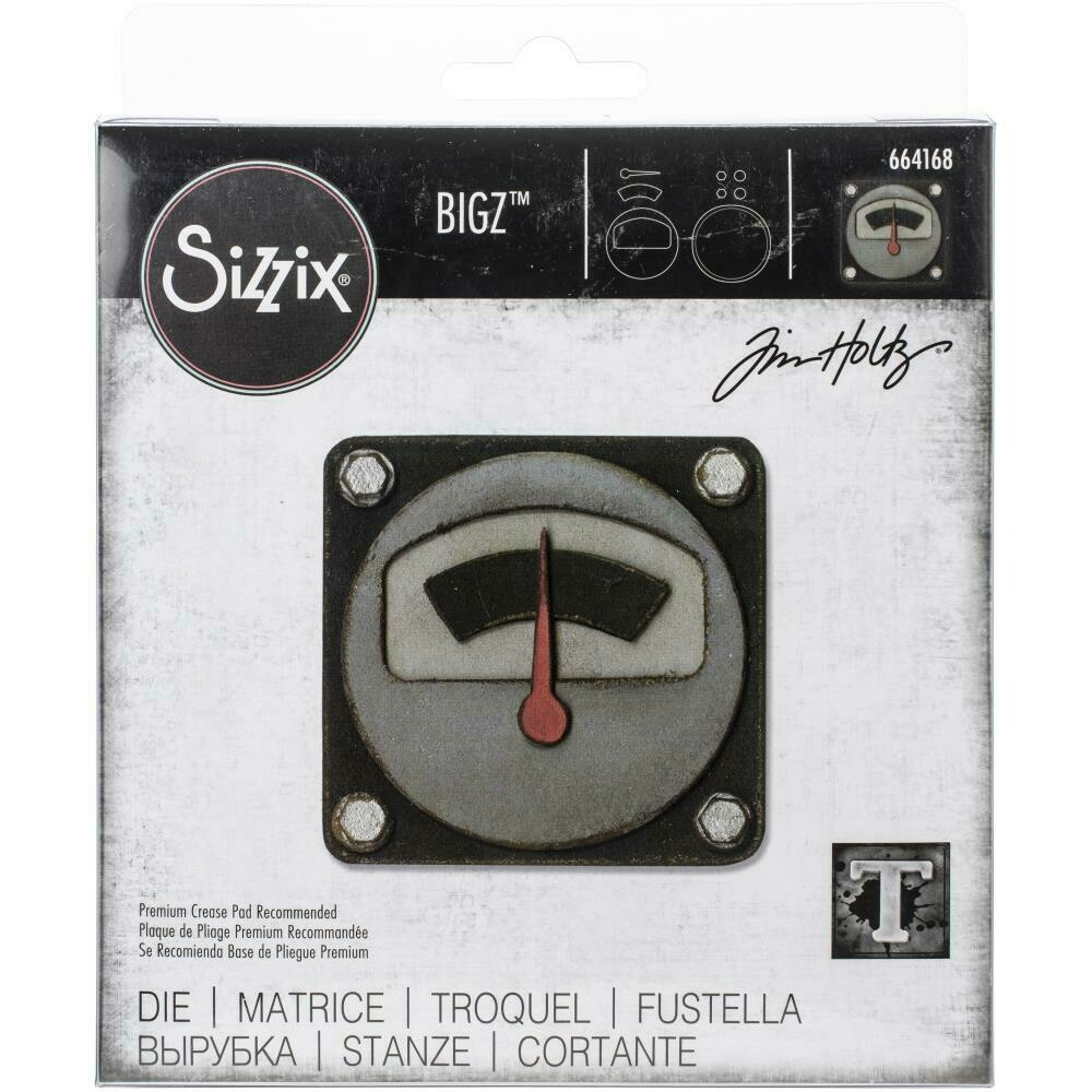 Tim Holtz Sizzix Bigz Die Voltage