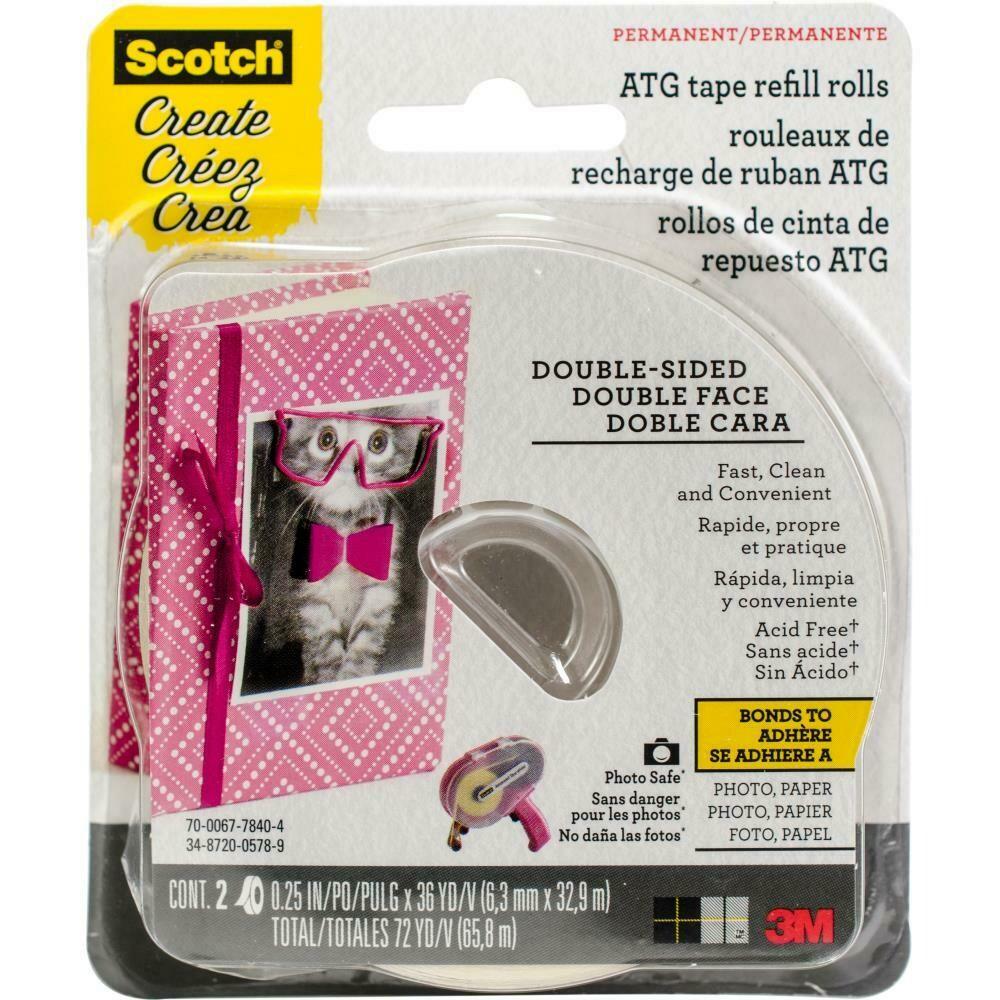 Scotch ATG tape refill acid free
