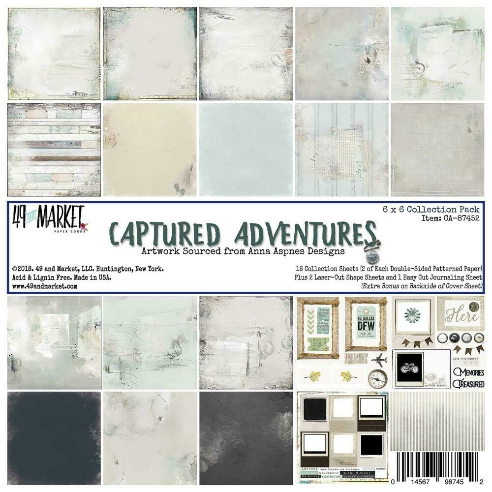 49 and Market Collection Pack 6x6 Captured Adventures
