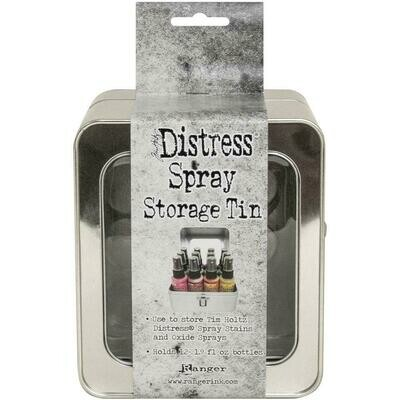 Tim Holtz Distress Spray Storage Tin