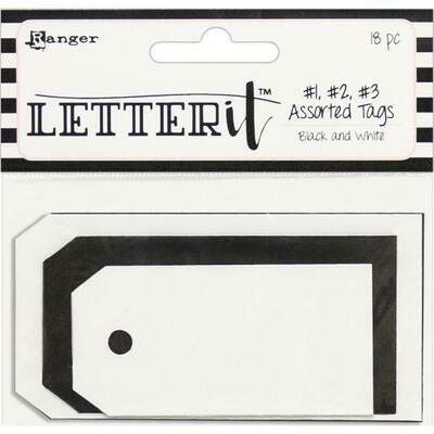Ranger Letter It Tag Assortment