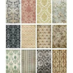Tim Holtz Idea-Ology Worn Wallpaper 5