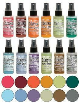 PREORDER Tim Holtz Distress Oxide Sprays set 5 released November 2019