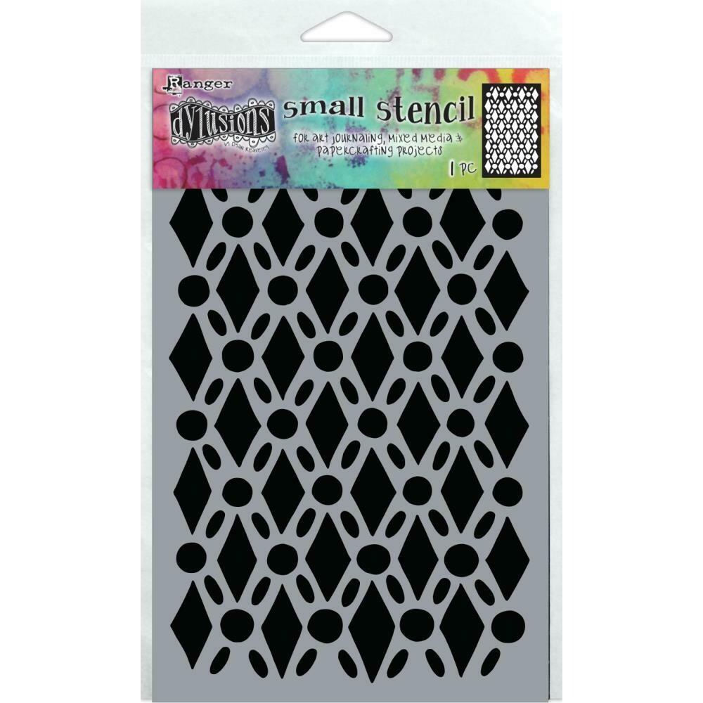 "PREORDER Dyan Reaveley's Dylusions Stencils 5""X8"" Fancy Floor"