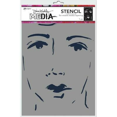 PREORDER Dina Wakley Media Stencils 9