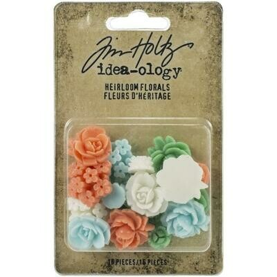 PREORDER Tim Holtz Idea-Ology Heirloom Florals