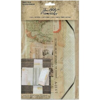 PREORDER Tim Holtz Idea-Ology Travel Folio