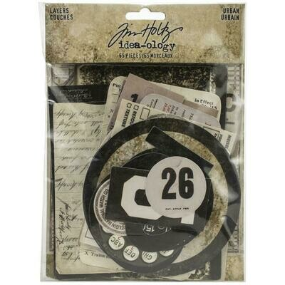 PREORDER Tim Holtz Idea-Ology Layers Urban