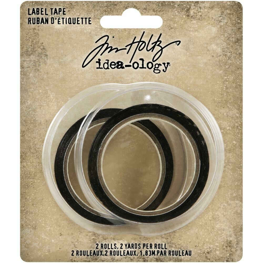 PREORDER Tim Holtz Idea-Ology Label Tape