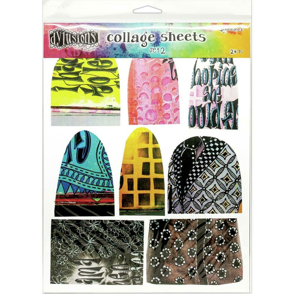 "PREORDER Dyan Reaveley's Dylusions Collage Sheets 8.5""X11"" Set 2"