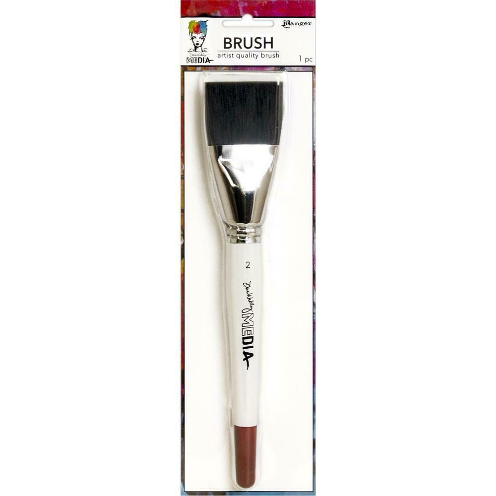"PREORDER Dina Wakley Media Stiff Bristle Brush 2"""