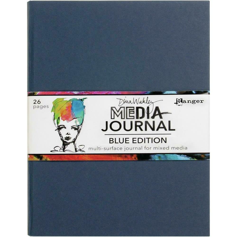 "PREORDER Dina Wakley Media Journal 8""X10"" Blue Edition"