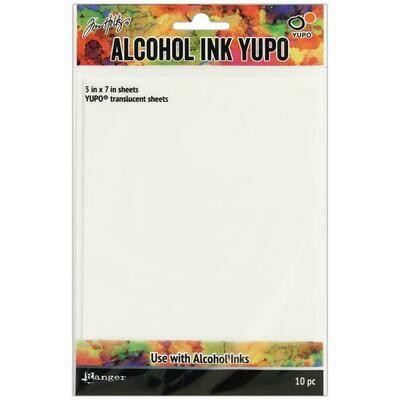 Tim Holtz Alcohol Ink Yupo Transparent