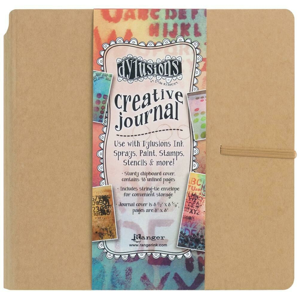 "Dylusions Creative Journal Kraft 8.75""x9"""