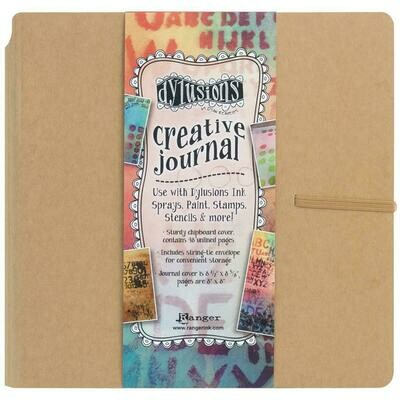 Dylusions Creative Journal Kraft 8.75