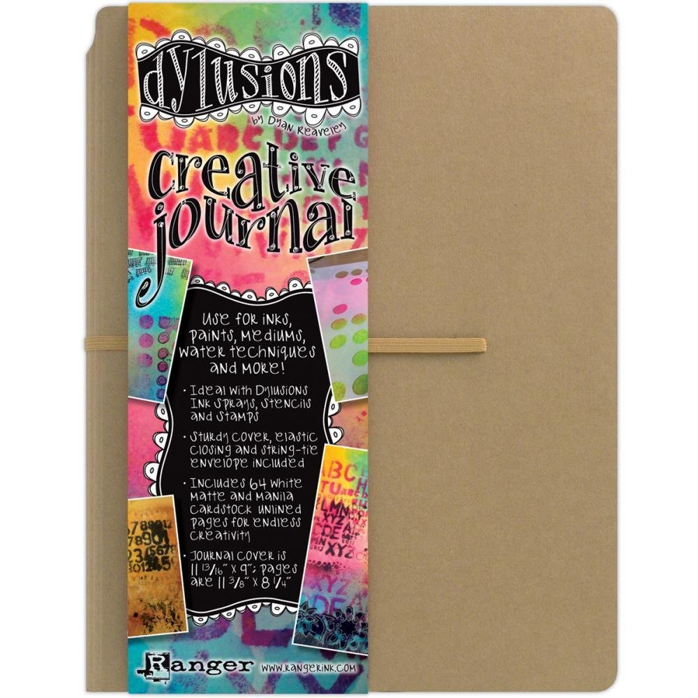 "Dylusions Creative Journal Kraft 11.75""x9"""