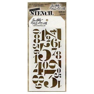 Tim Holtz Layering Stencil 4.125