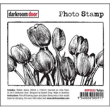 Darkroom Door Photo Stamp