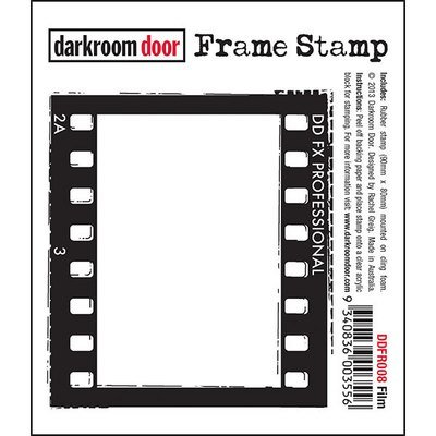 Darkroom Door Frame Stamp