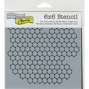 "Crafter's Workshop Template Stencil 6""X6"""