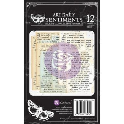 Prima Art Daily Planner Sticker Pad 4.5