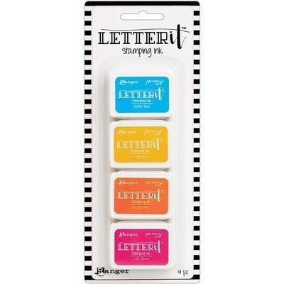 Ranger Letter It Stamping Ink Set