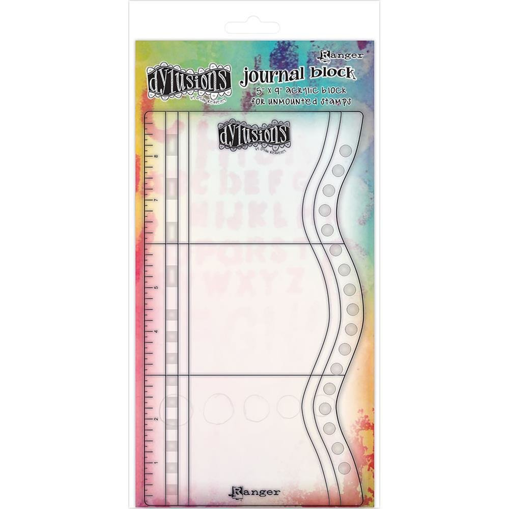 """Dylusions Journaling Block 9""""X5"""""""