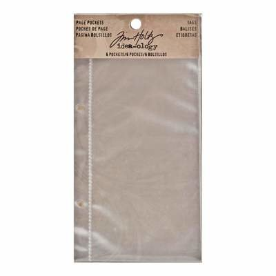 Tim Holtz Idea-Ology 2-Hole Page Pockets 4