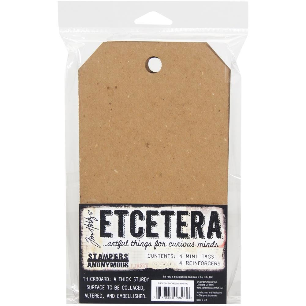 Tim Holtz Etcetera Mini Tag