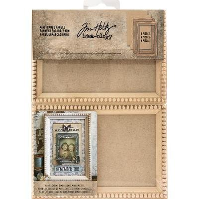 Tim Holtz Idea-Ology Mini Wooden Framed Panels