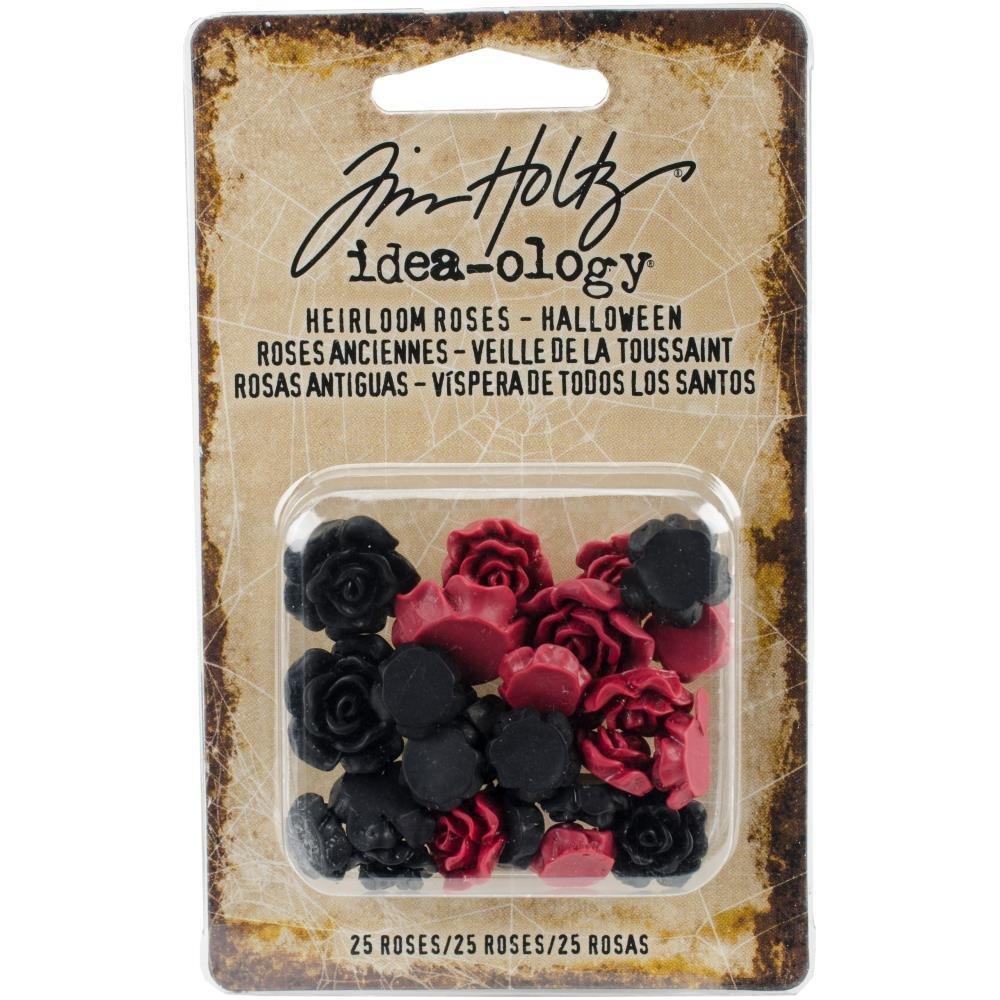 Tim Holtz Idea-Ology Heirloom Roses 25/Pkg