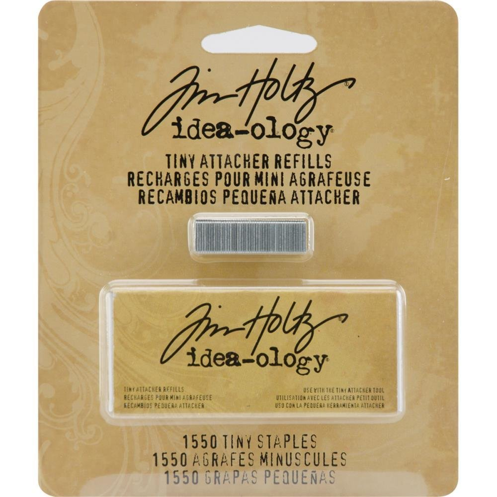 Tim Holtz Idea-Ology Tiny Attacher Refill Staples