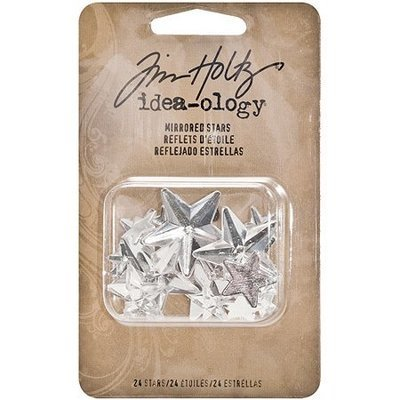 Tim Holtz Idea-Ology Mirrored Stars Clear