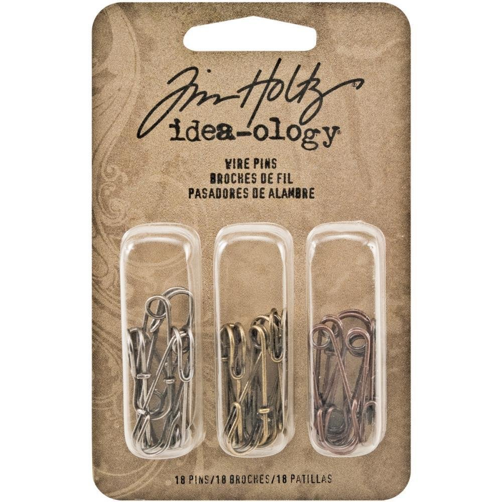 Tim Holtz Idea-Ology Metal Wire Pins