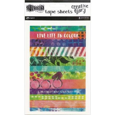 Dylusions Creative Dyary Tape Strips