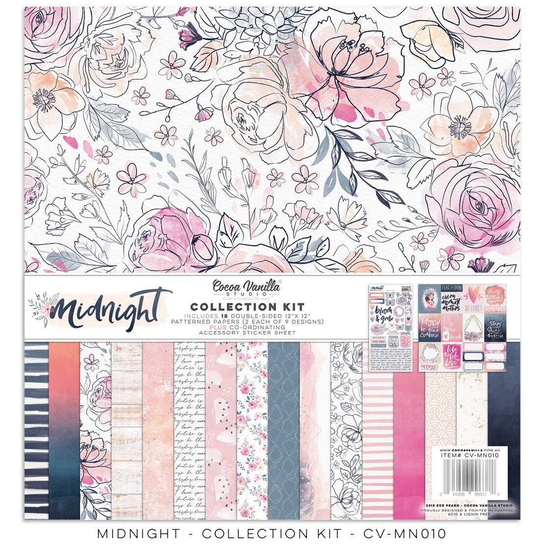 Cocoa Vanilla Midnight Collection Kit