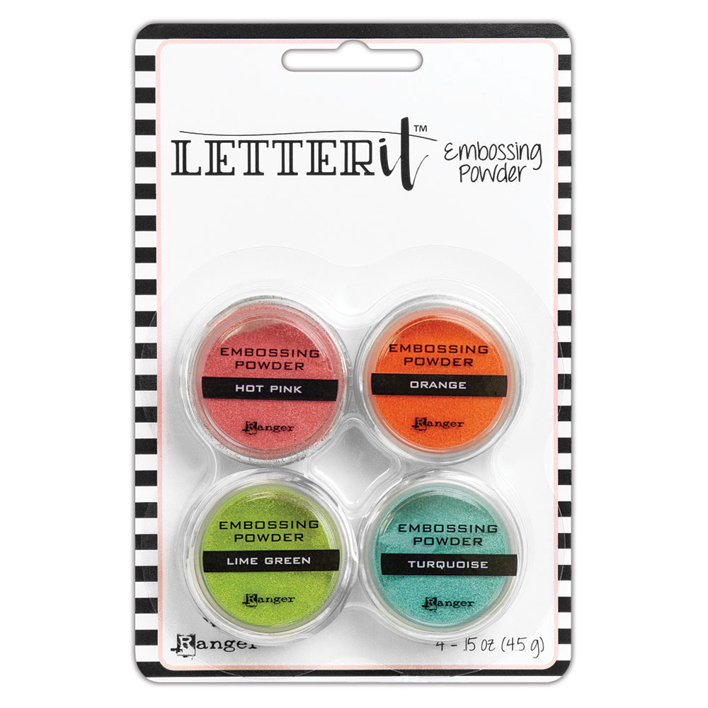 Ranger Letter It Embossing Powder Set Brights