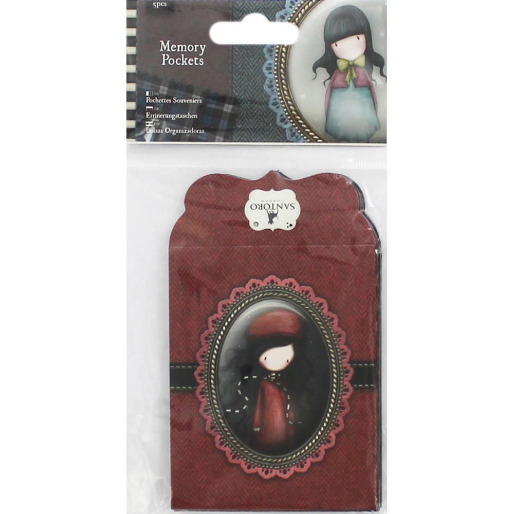 Santoro's Gorjuss Tweed Memory Pockets