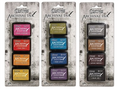 PREORDER Tim Holtz Distress Archival Mini Ink Complete Set