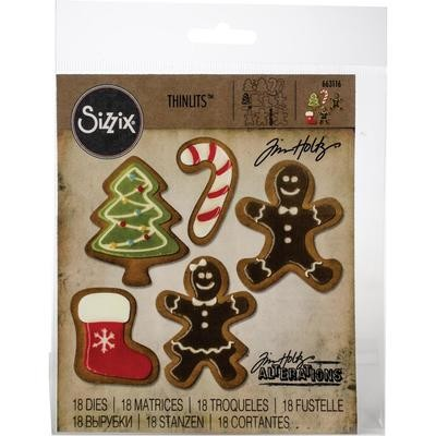 Tim Holtz Sizzix Thinlits Dies Fresh Baked #2