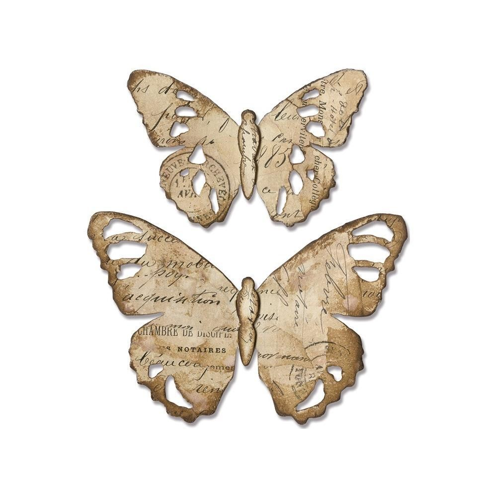 PREORDER Tim Holtz Sizzix Bigz Die Tattered Butterfly
