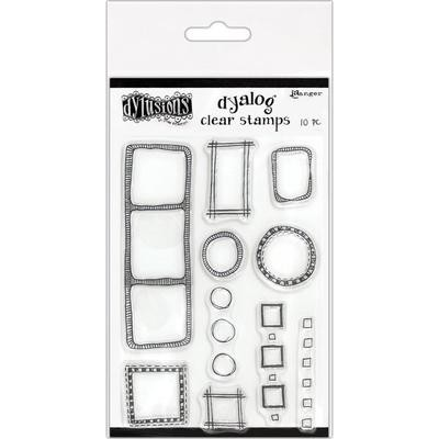 Dylusions Clear Stamps 4
