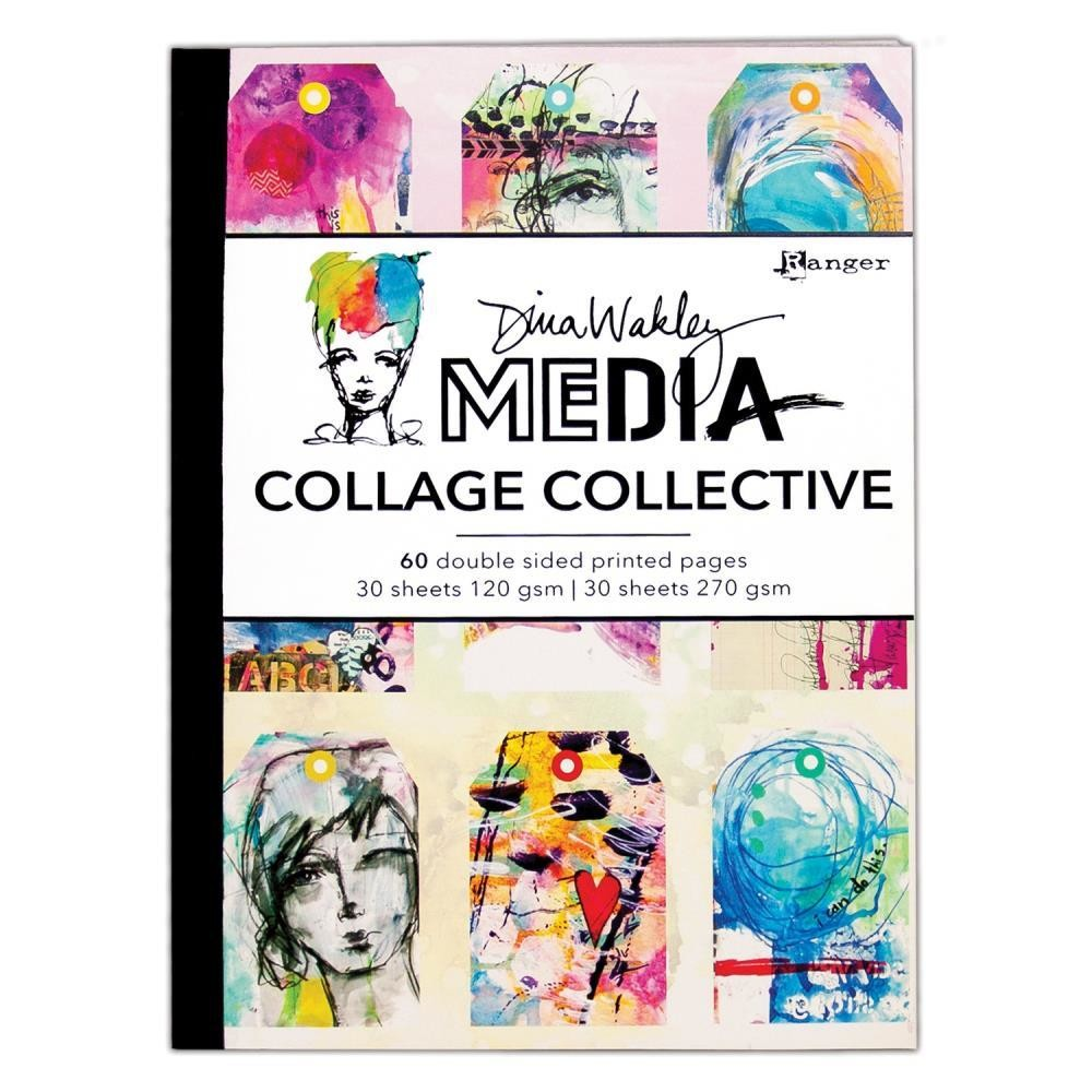 PREORDER Dina Wakley Media Mixed Media Collage Collective
