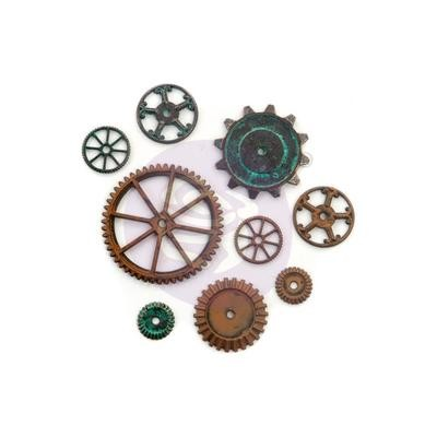 PREORDER Finnabair Mechanicals Metal Embellishments Machine Parts