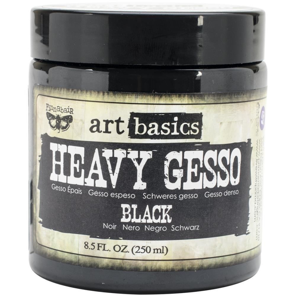Finnabair Art Basics Heavy Gesso Black