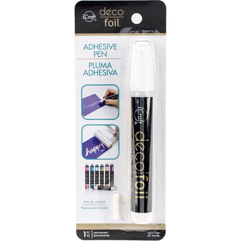 Deco Foil Adhesive Pen .34fl oz