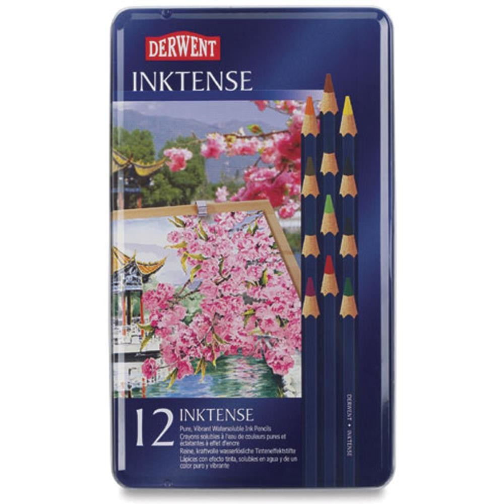 Derwent Inktense Pencils 12/Pkg