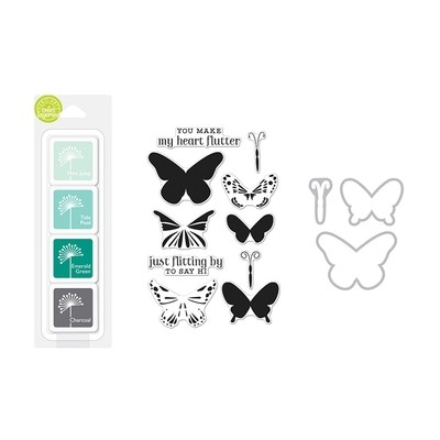Hero Arts Color Layering Bundle Butterflies